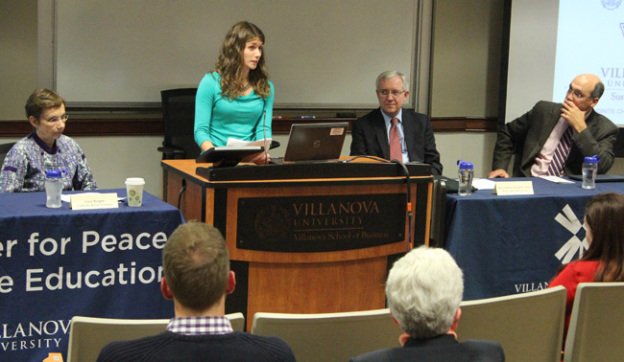 Villanova panel speaks on climate change.